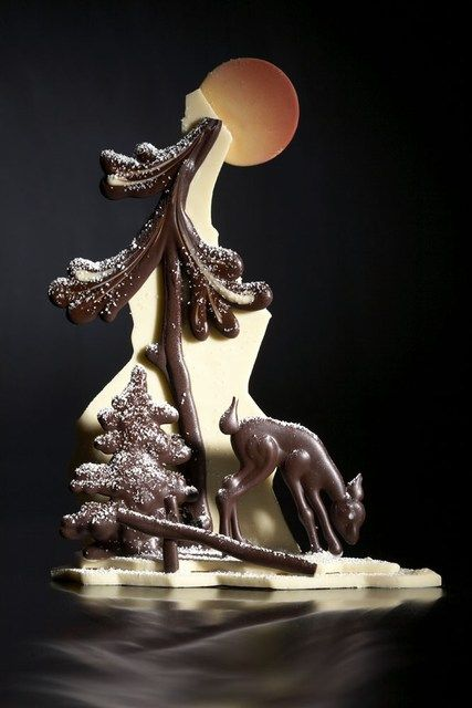 chocolate art 11