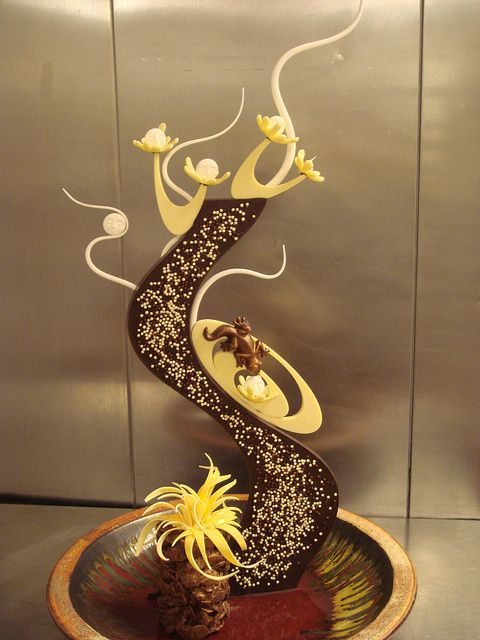 chocolate art 21