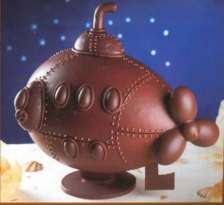 chocolate art 25