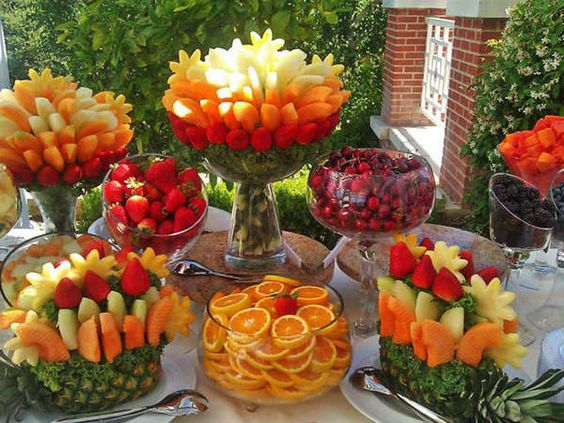 fruit arrangement ideas 16
