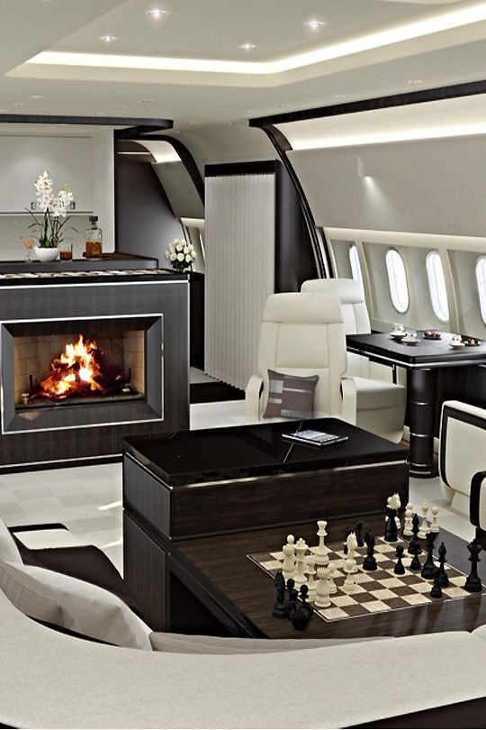 private jet interior 11