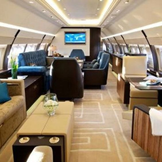 private jet interior 13