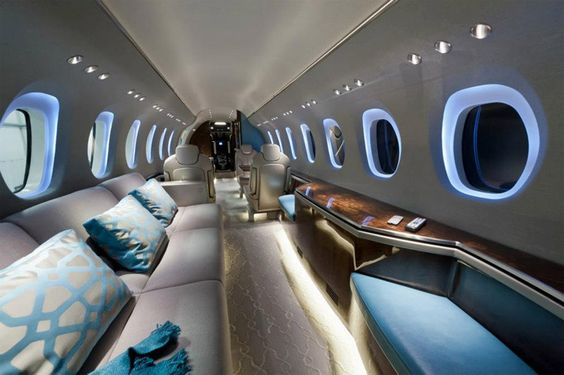 private jet interior 14