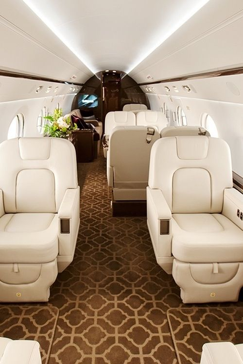 private jet interior 17
