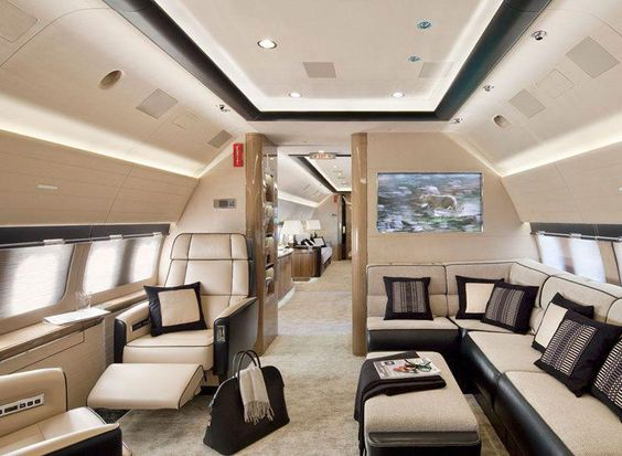 private jet interior 2