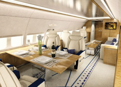 private jet interior 21