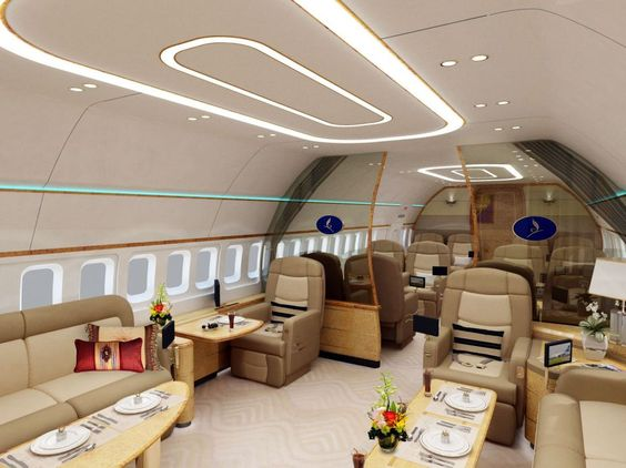 private jet interior 23
