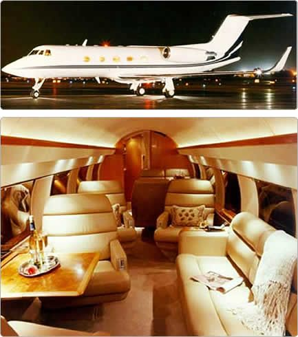 private jet interior 4