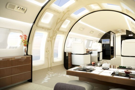 private jet interior 6