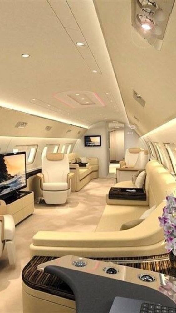 private jet interior 7