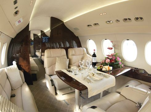 private jet interior 8