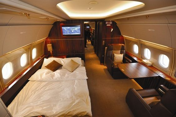private jet interior 9