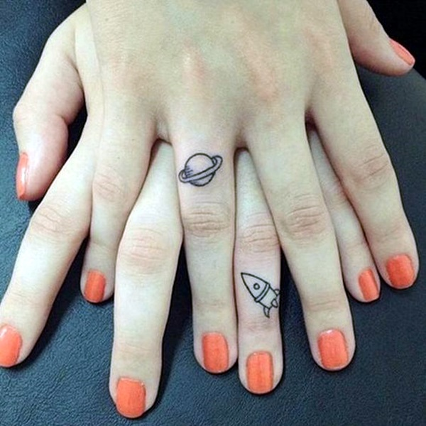 Adorable Sisters Forever Tattoo Design Ideas (27)