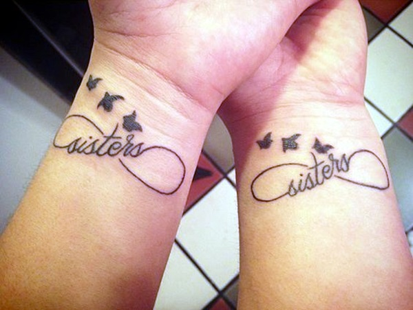Adorable Sisters Forever Tattoo Design Ideas (30)