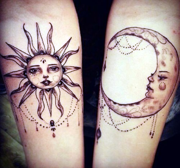 Adorable Sisters Forever Tattoo Design Ideas (37)