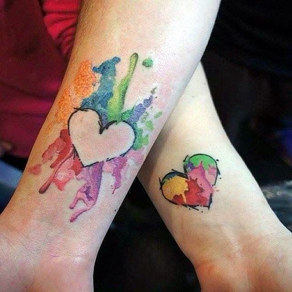 Adorable Sisters Forever Tattoo Design Ideas (39)