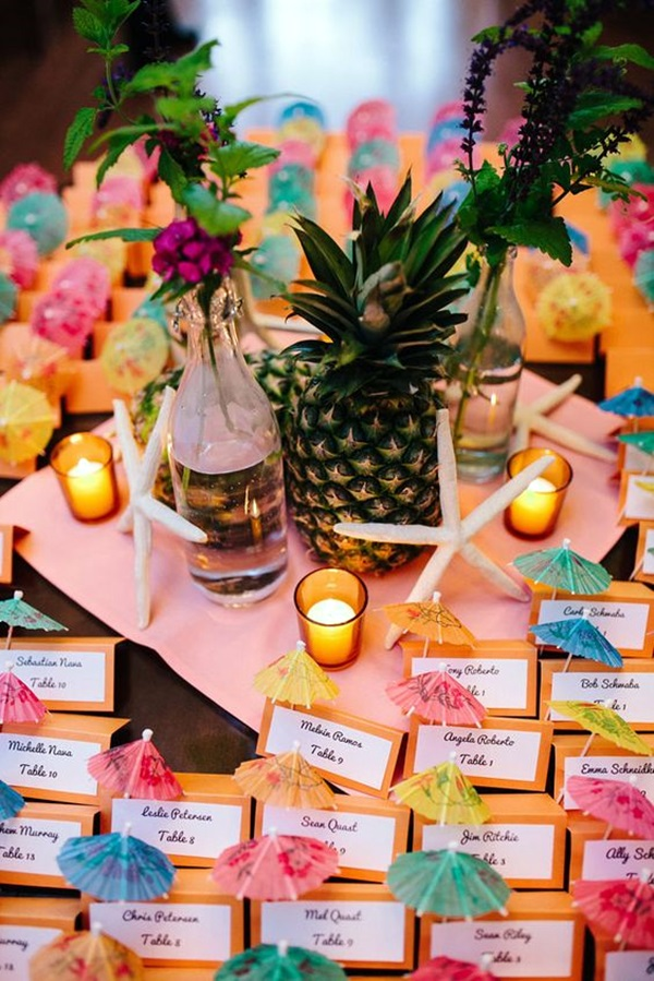 Affordable and Creative Hawaiian party decoration Ideas (11)
