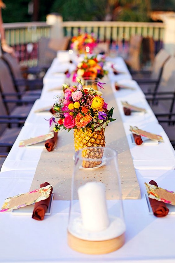 Affordable and Creative Hawaiian party decoration Ideas (14)