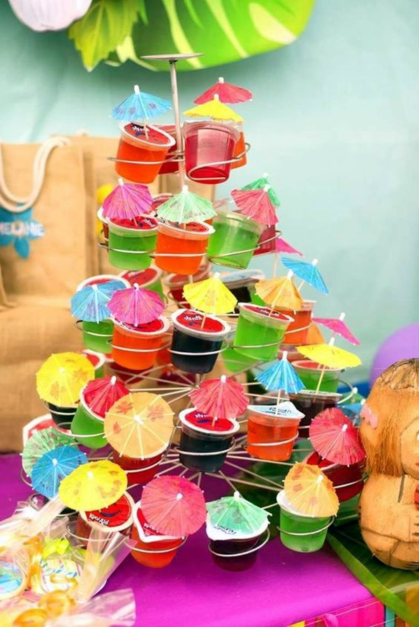 Affordable and Creative Hawaiian party decoration Ideas (23)