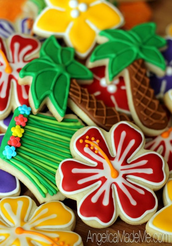 Affordable and Creative Hawaiian party decoration Ideas (27)