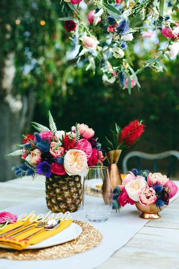 Affordable and Creative Hawaiian party decoration Ideas (41)