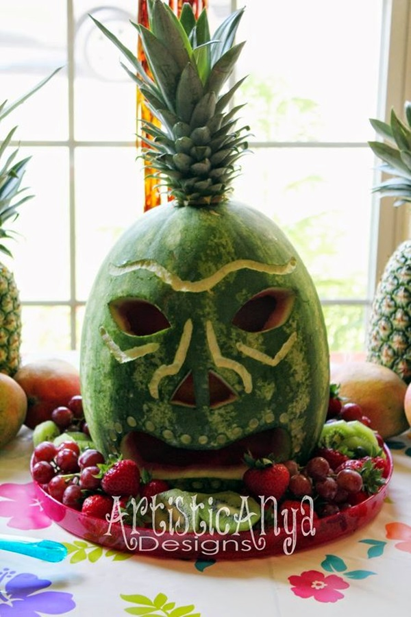 Affordable and Creative Hawaiian party decoration Ideas (7)