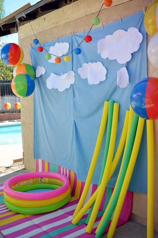 Affordable and Creative Hawaiian party decoration Ideas (8)