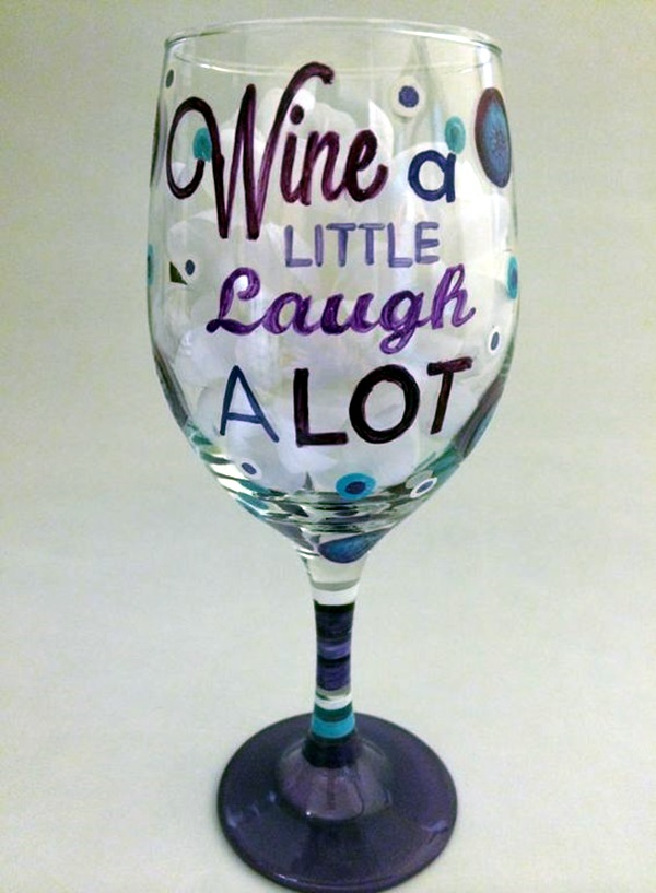 Artistic Wine Glasses