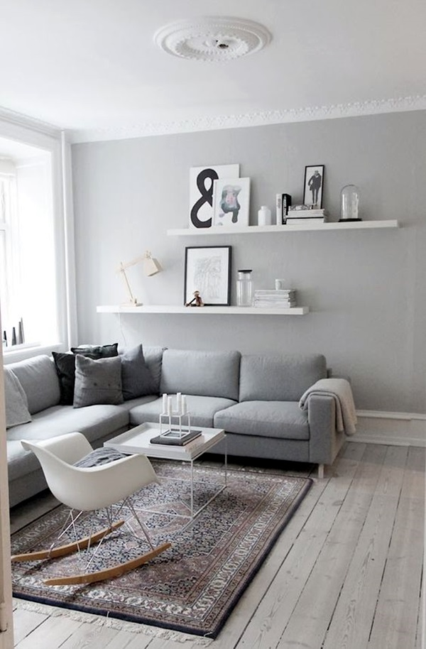 Grey Living Room Ideas to Adapt (16)