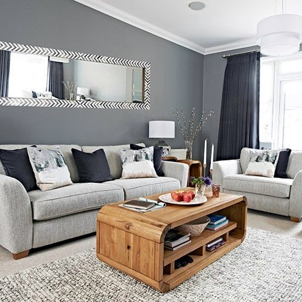 Grey Living Room Ideas to Adapt (21)