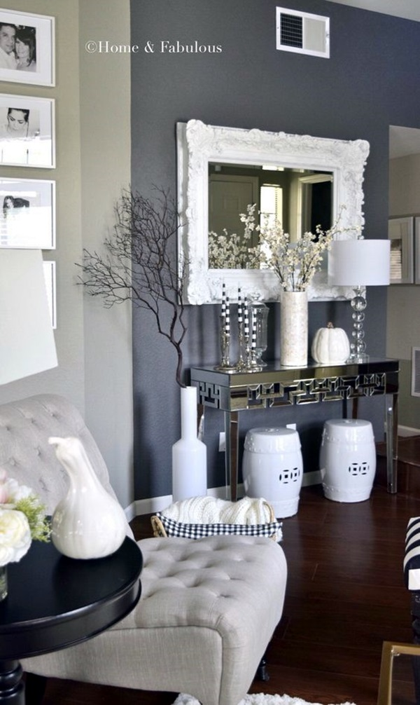 Grey Living Room Ideas to Adapt (22)