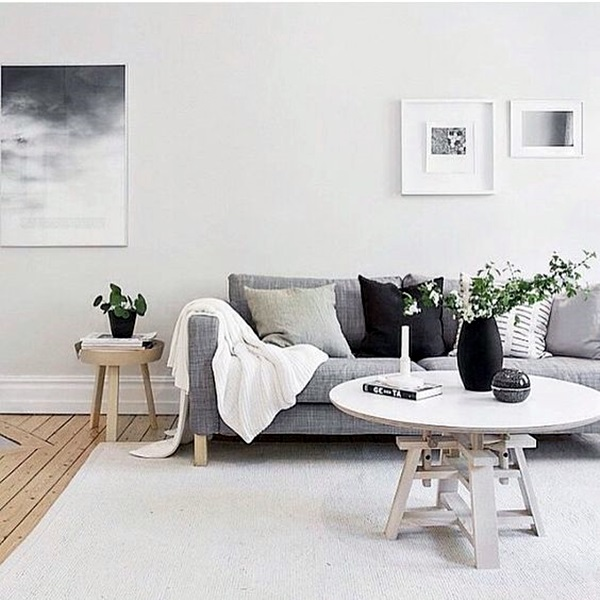 Grey Living Room Ideas to Adapt (23)