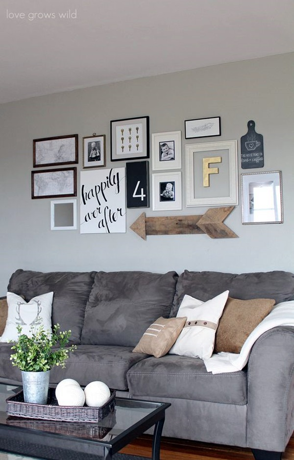 Grey Living Room Ideas to Adapt (26)