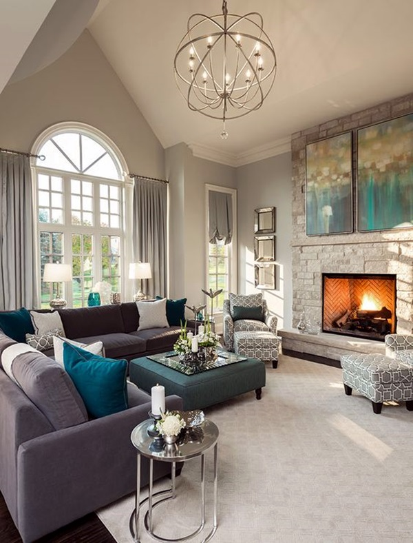 Grey Living Room Ideas to Adapt (29)