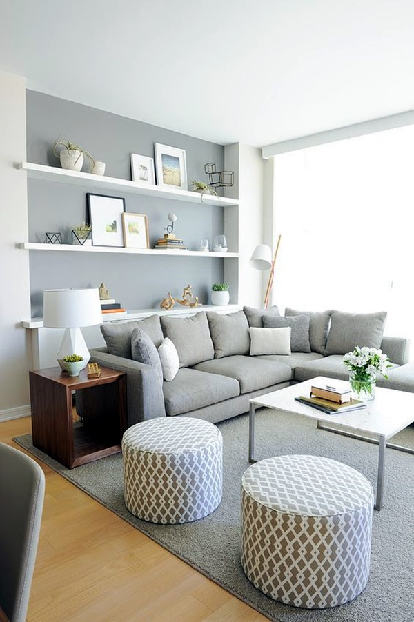 Grey Living Room Ideas to Adapt (34)