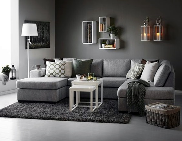 Grey Living Room Ideas to Adapt (41)
