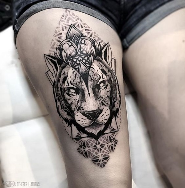 New and Trendy Dotwork Tattoo Ideas for 2016 (20)