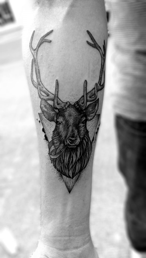 New and Trendy Dotwork Tattoo Ideas for 2016 (40)