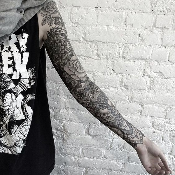 New and Trendy Dotwork Tattoo Ideas for 2016 (41)