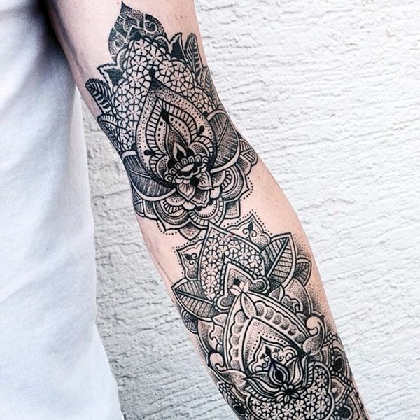 New and Trendy Dotwork Tattoo Ideas for 2016 (48)