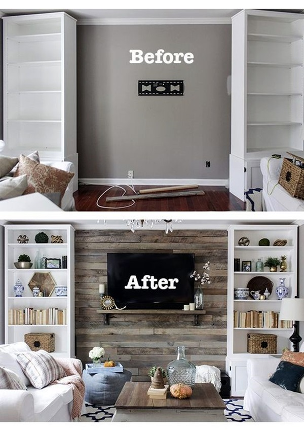 Simple but Fashionable Living Room Wall Decoration Ideas (3)