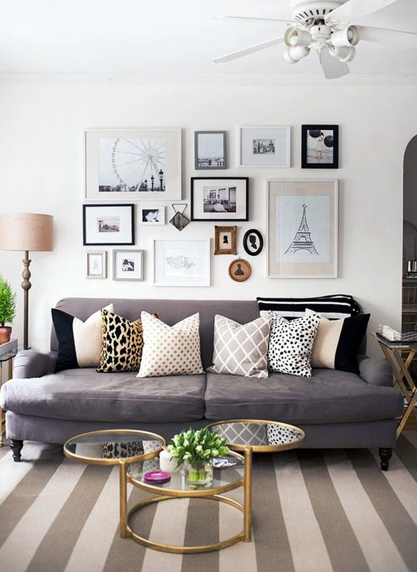 Simple but Fashionable Living Room Wall Decoration Ideas (4)