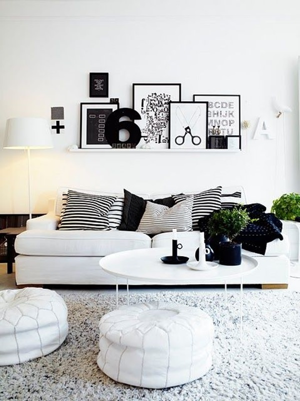Simple but Fashionable Living Room Wall Decoration Ideas (6)