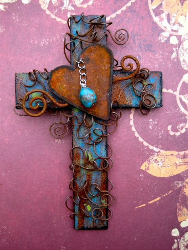 Utterly Beautiful Rusted Metal Art Works (1)