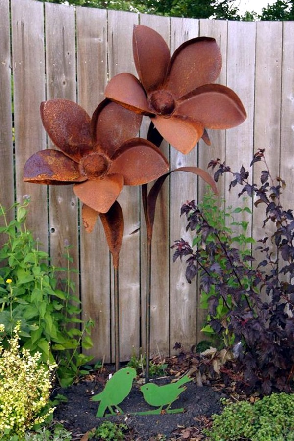 Utterly Beautiful Rusted Metal Art Works (25)