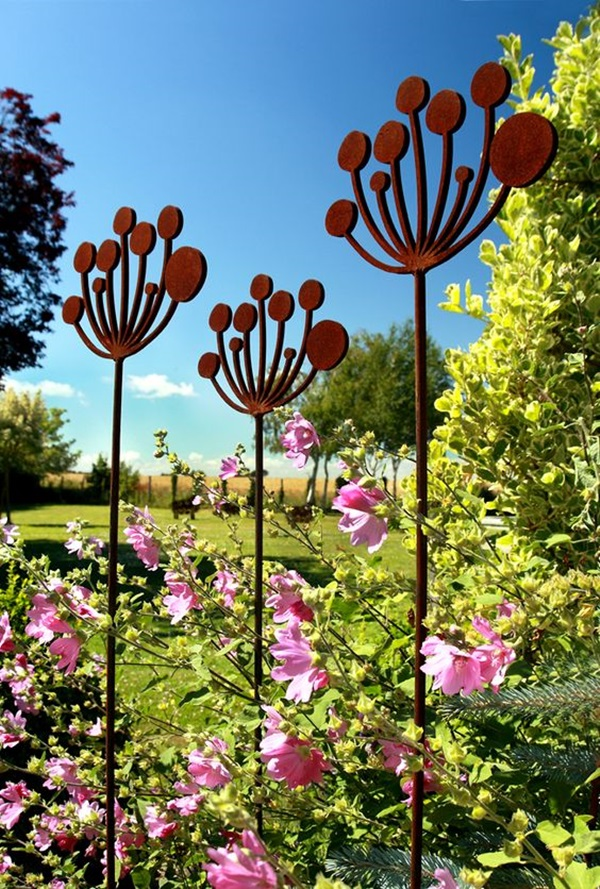 Utterly Beautiful Rusted Metal Art Works (33)