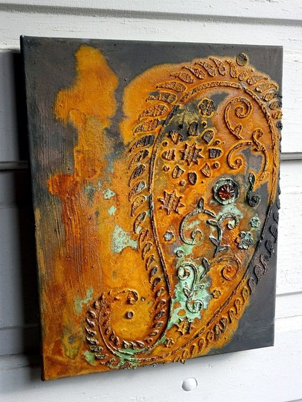 Utterly Beautiful Rusted Metal Art Works (36)