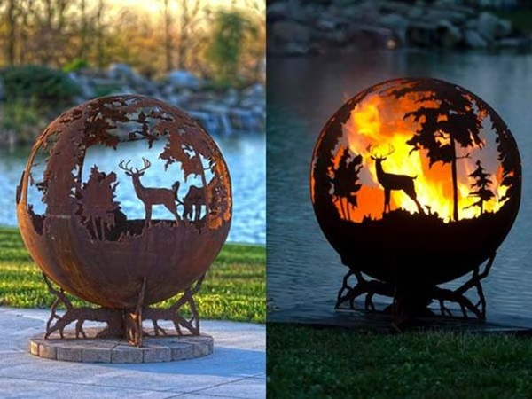 Utterly Beautiful Rusted Metal Art Works (7)