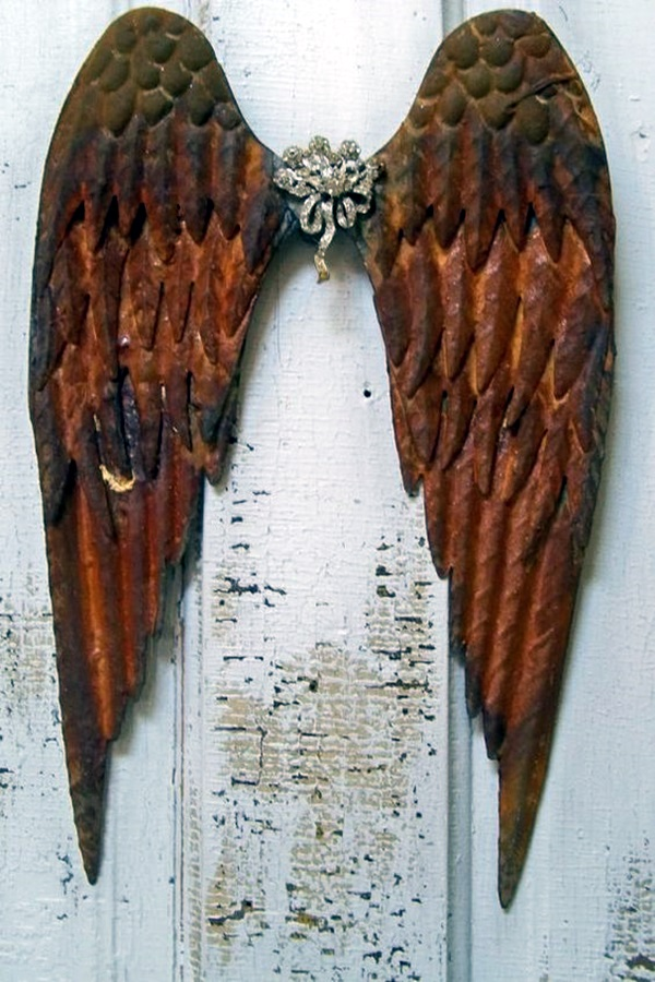 Utterly Beautiful Rusted Metal Art Works (8)