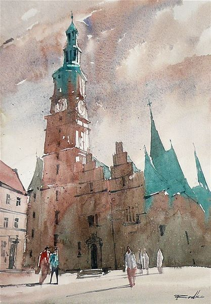 architectural water colors 17